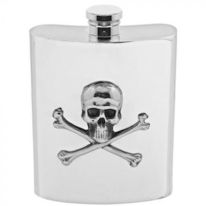 Flasque Poison SF670 180ml English Pewter Company