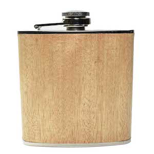 Flasque Light Wood 180ml UK Hip Flasks