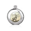 Flasque étain ronde SC125 180ml English Pewter Company