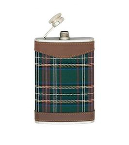 Flasque alcool whisky inox tissu | e-flasques.com