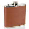 Flasque inox cuir 160 180ml UK Hip Flasks