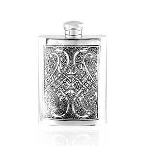 Flasque étain CEL152 180ml English Pewter Company
