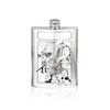 Flasque étain Chasseur SF202 180ml English Pewter Company